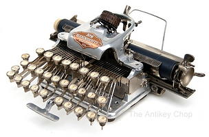 Blickensderfer No.6 Aluminum Typewriter