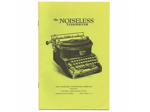 Post Era NOISELESS TYPEWRITER Trade Catalog Antique Active