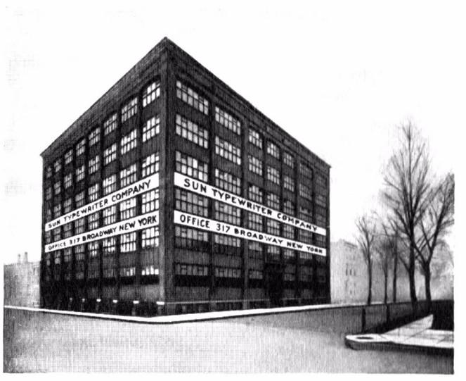 Sun Typewriter Factory