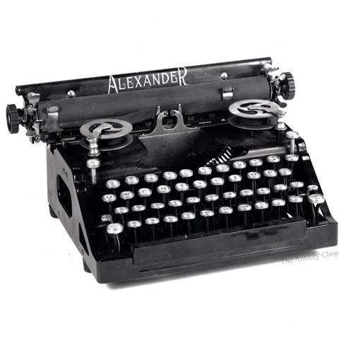 Alexander Typewriter