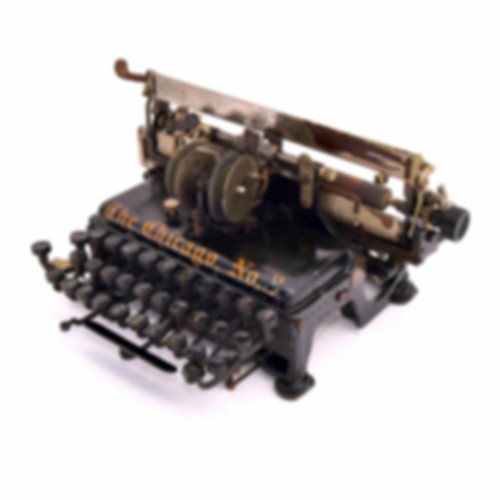 The Chicago No.3 Typewriter