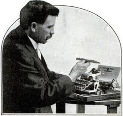 Hebern Cipher Typewriter