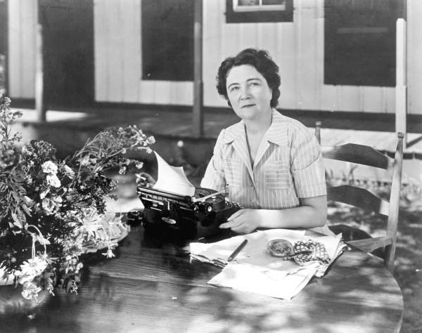 Author Marjorie Kinnan Rawlings