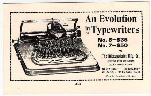 Blickensderfer Typewriter