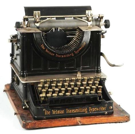 The Yetman Transmitting Typewriter