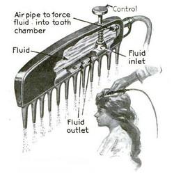 Fountain Comb