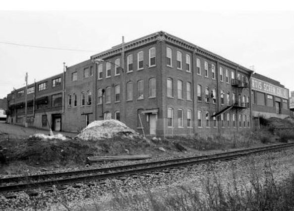 The Burns Typewriter Company Factory