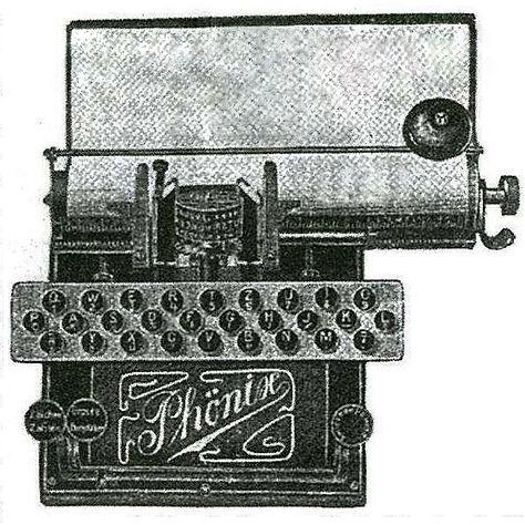 Phönix Typewriter (Schreibmaschine)