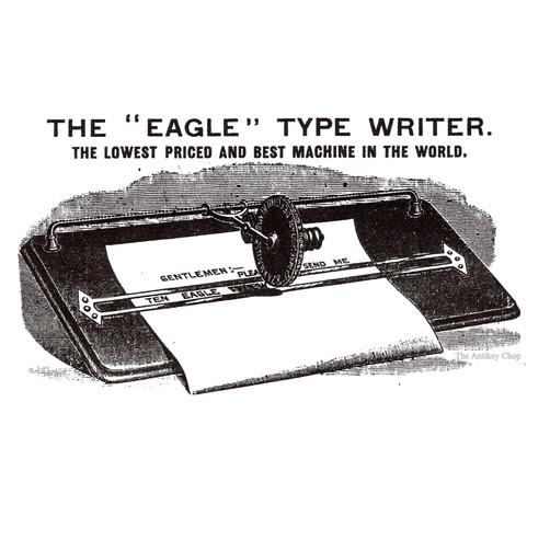 The Eagle Typewriter