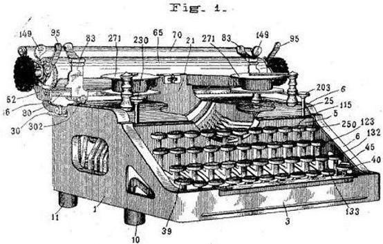 Alexander Typewriter Patent