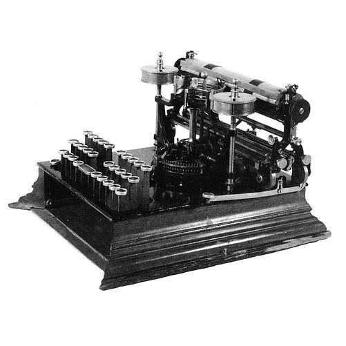 Dresdner Typewriter
