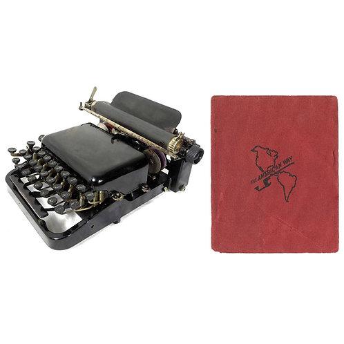 American No.5 Typewriter Instruction Manual