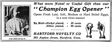 Hartford Novelty Company Ad 1888