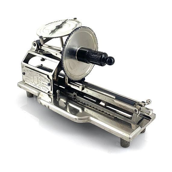 Improved Columbia No.2 Typewriter