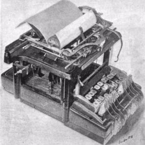 Vidal Typewriter Keyboard