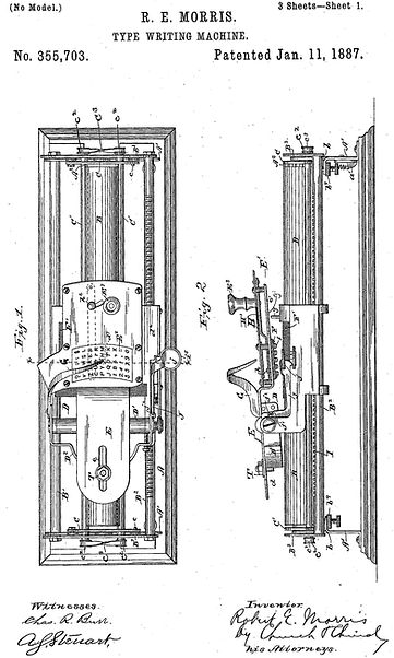The Morris Typewriter Patent