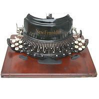 New Franklin Typewriter