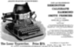 Lasar Typewriter Ad