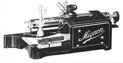 Mignon No.1 Typewriter