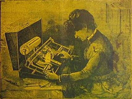 Hall Typewriter Brochure