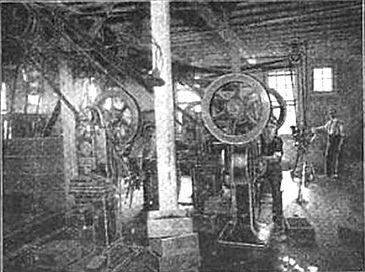 Postal Typewriter Factory Machine Room