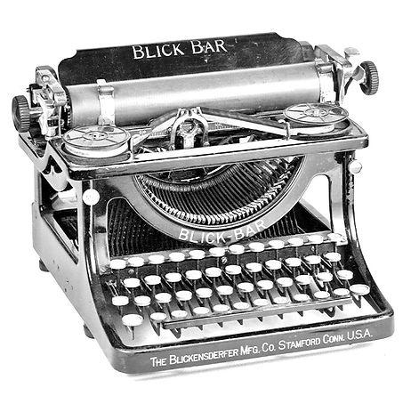 Blick Bar Typewriter