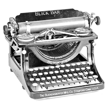 Blick Bar Typewriter