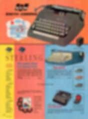 Smith Corona 5 Series Typewriter Ad 1962