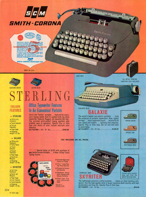 Smith Corona 5 Series Typewriter Ad 1962