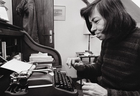 Novelist Patricia Highsmith