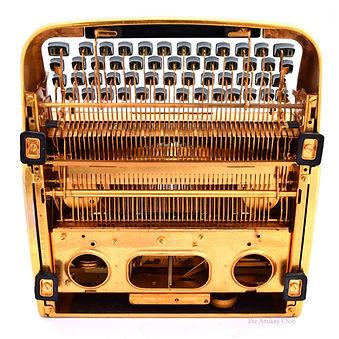 Gold Remington Typewriter