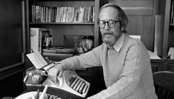 Screenwriter Elmore Leonard