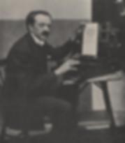 Luigi Fortnoi w/his Music Typewirter