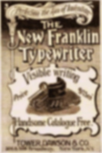 Franklin Typewriter Ad