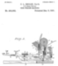 Sholes Visible Typewriter Patent