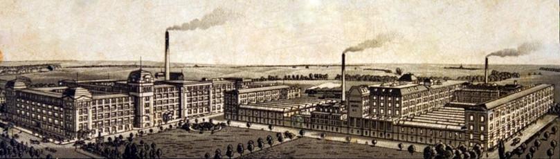 Continental Wanderer Werke Typewriter Factory
