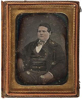 John A.P. Fisk President of NYC Fat Mens Club