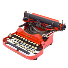 Red Corona Special No.3 Folding Typewriter