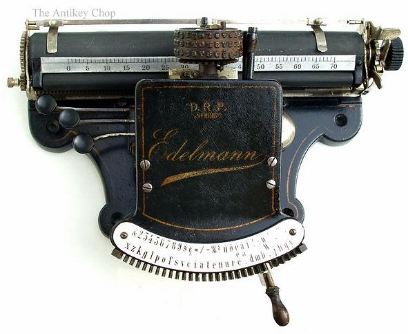 Edelmann Typewriter