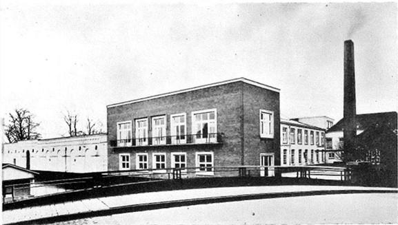 Royal Typewriter Factory in Leieden, Holland