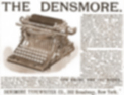 1894 Densmore Typewriter Ad