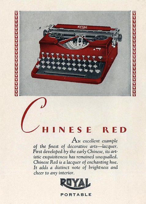 Royal Model P Portable Typewriter Colors