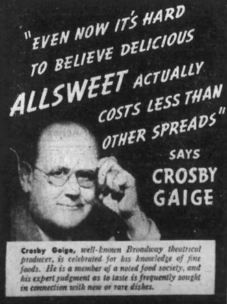 Crosby Gaige