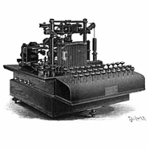 Zerograph No.1 Typewriter