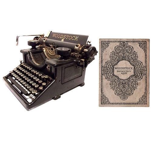 Woodstock Nos.3, 4, 5, 6, 7, 8 & Electrite Typewriter Instruction Manual