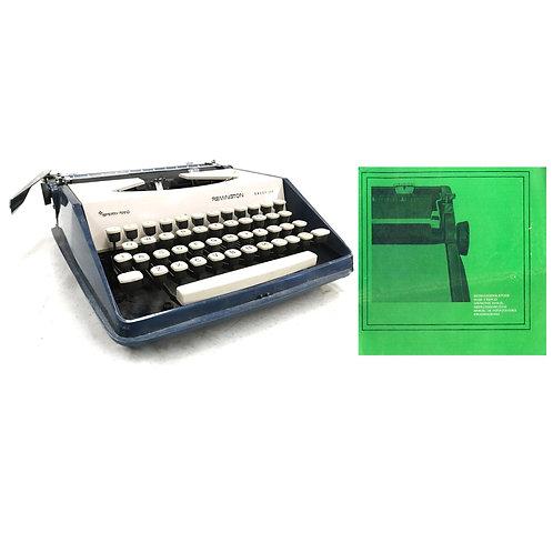 Remington Envoy III Typewriter Instruction Manual