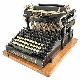 Smith Premier No.4 Typewriter