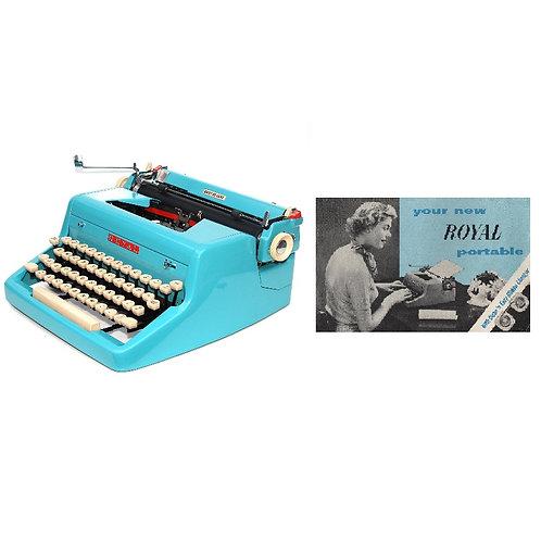 Royal Quiet De Luxe Typewriter Instruction Manual