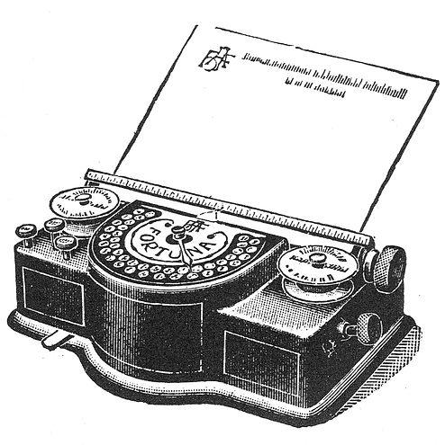 Fortuna Typewriter