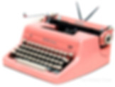 Pink Royal Quiet de Luxe Portable Typewriter